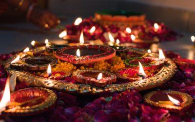 Joyeux Diwali à nos amis en Inde !